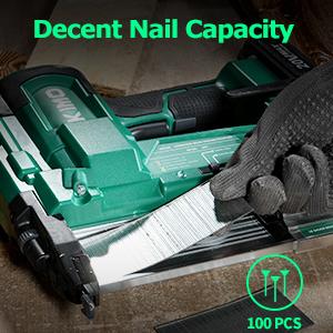 Decent Nail Capacity
