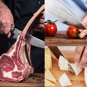 chef knife for meats and vegs