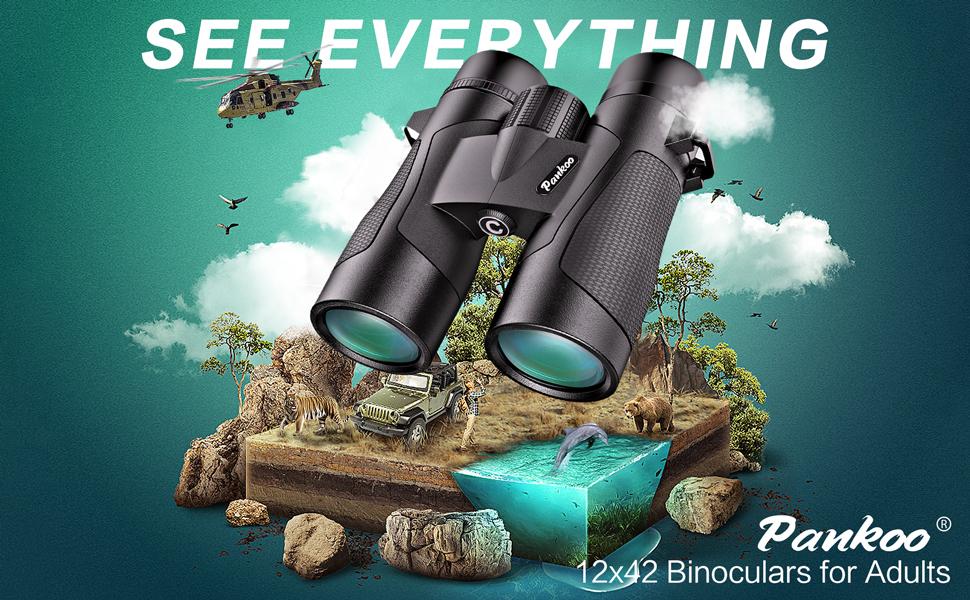 pankoo 12*42 binoculars