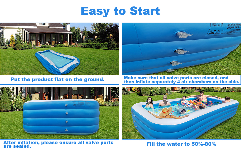 blow up pool