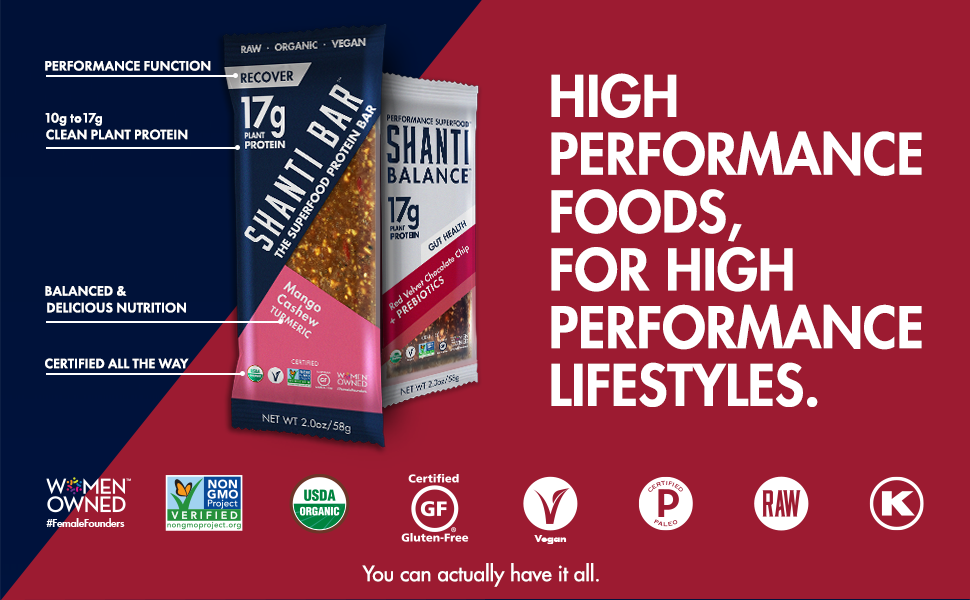 HIGH PERFORMANCE FOODS, FOR HIGH PERFORMANCE LIFESTYLES.