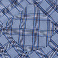 COOFANDY Men's Regular-fit Short Sleeve Plaid Shirts Casual Button Down Cotton Check Shirts