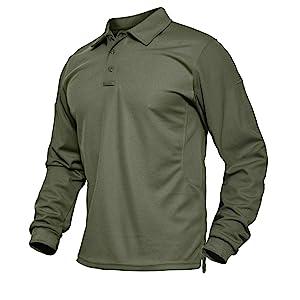 Work Polo Shirts For Men Golf Shirts