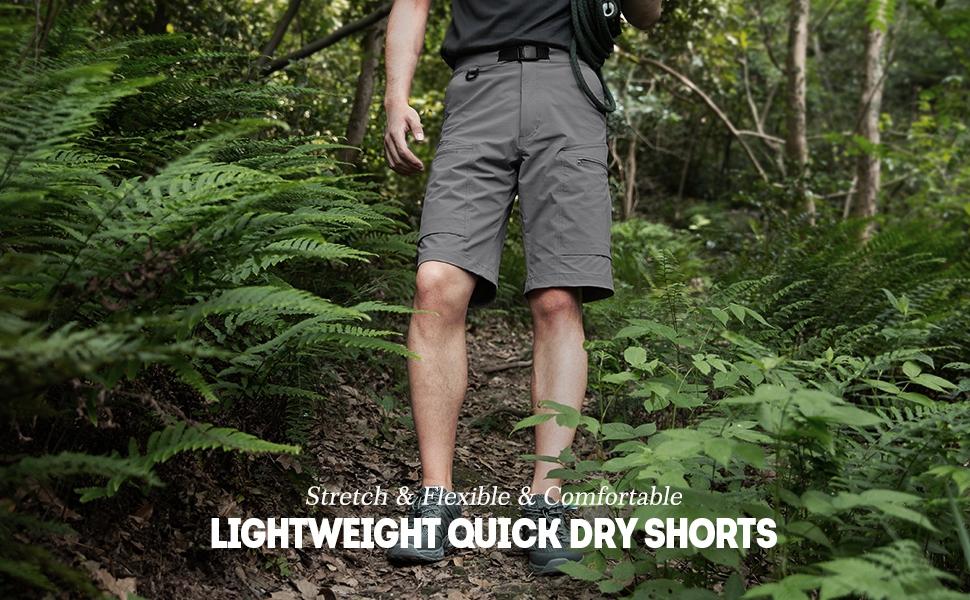lightweight quick-dry shorts