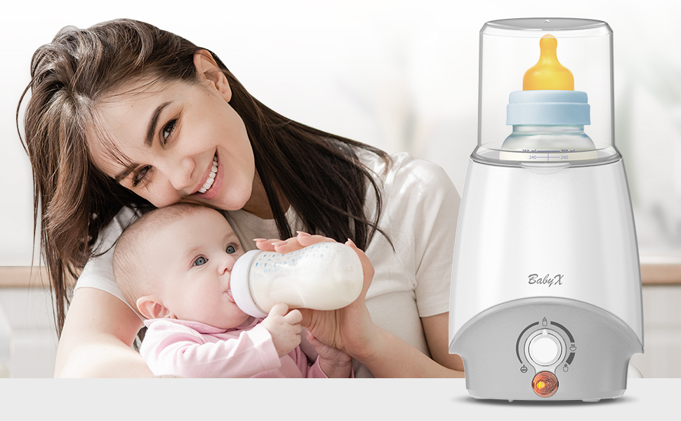 Milk Bottle Warmer for Mom and Dad