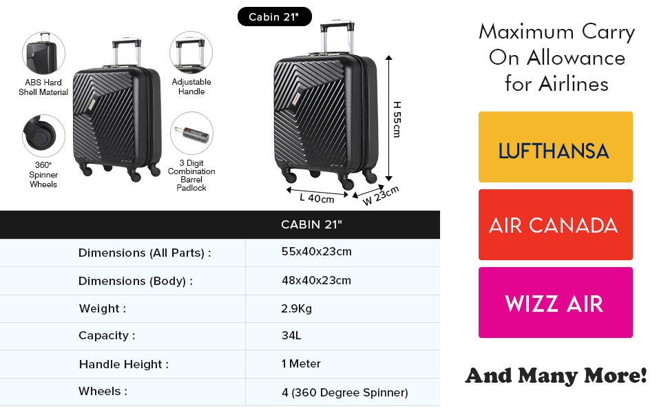 wizz air cabin luggage