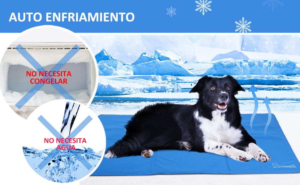 Pecute Alfombrilla de Refrigeración Animales Nevera y Manta para ...