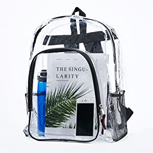 Clear Backpack for Work