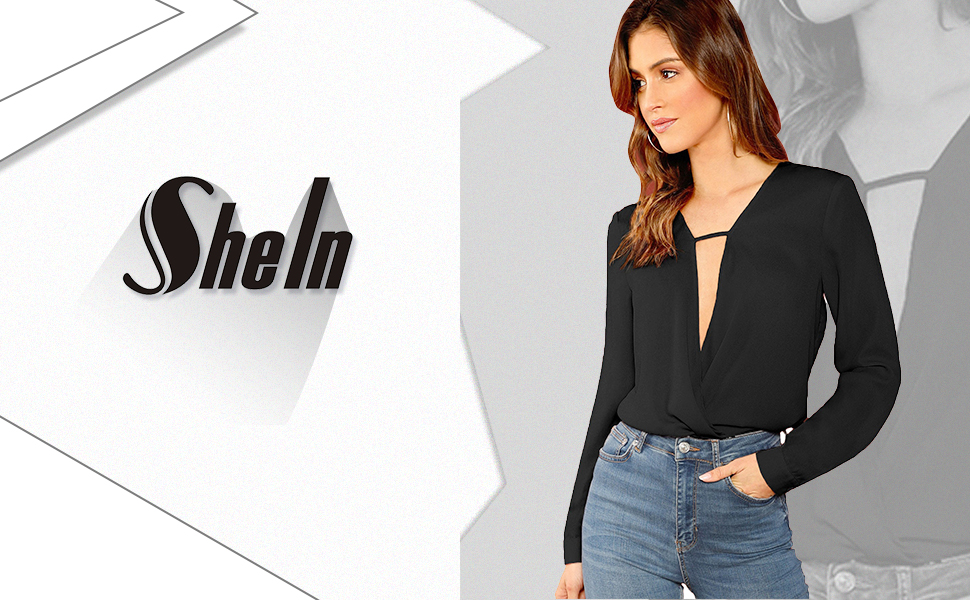 wrap blouses for women long sleeve