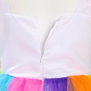 Dress with Back Zipper