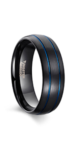 Mens Tungsten Rins