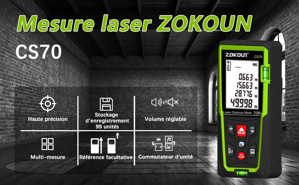Télémètre laser CS50
