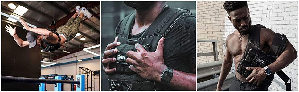 Gravity Fitness, Weighted Vest,