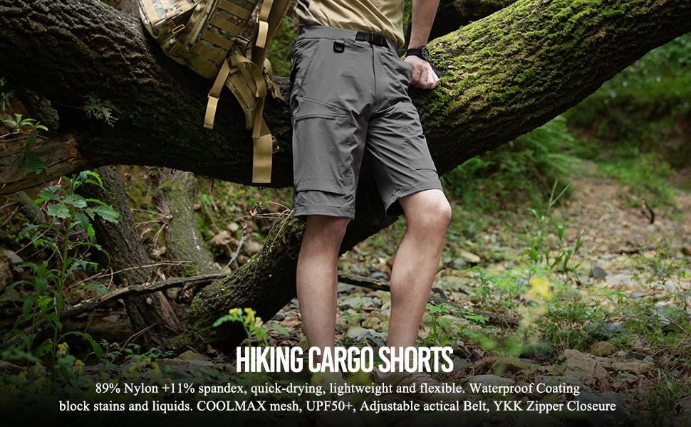 hiking cargo shorts