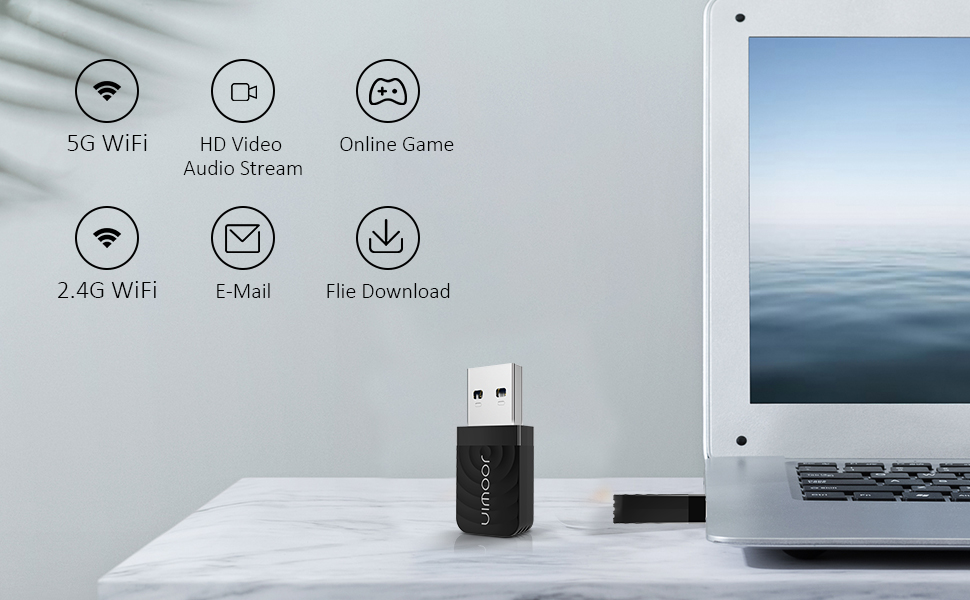features of usb wifi adapter