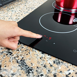 Touch control panel, easy to use