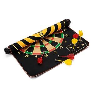 child's magnetic dart board