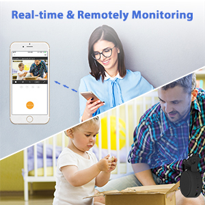 Real-time & Remotely Monitoring Mini Spy Hidden Camera