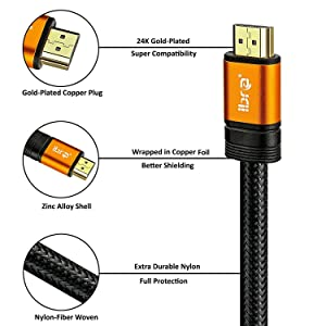 3ft hdmi cable 6ft hdmi lead
