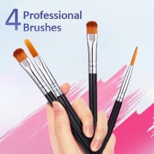 Professional 4pcs Brushes