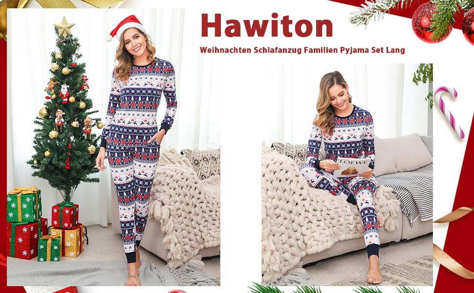 Baywell Weihnachts Schlafanz/üge Familie Pyjama Outfit Set Rot Plaid Nachtw/äsche Sleepwear Homewear fur Mutter Vater Kind Baby Weihnachtsoutfit