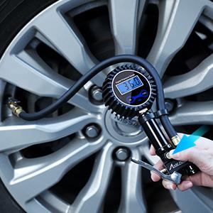 Tire Pressure Gauge Inflator