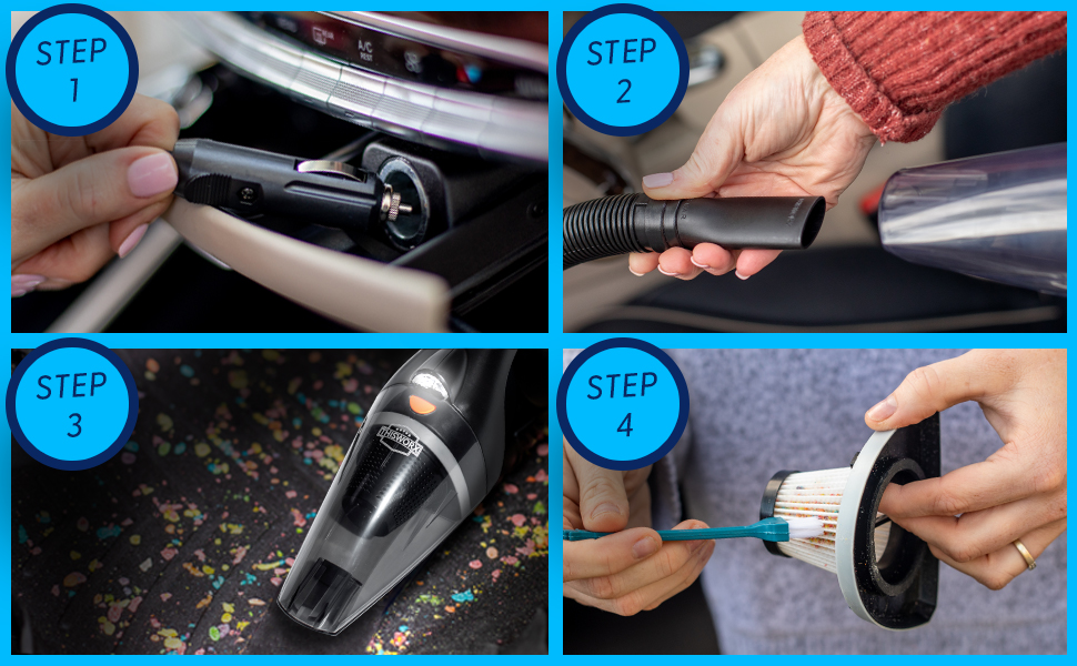 ThisWorx Portable Car Vacuum