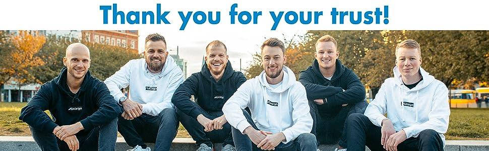 Team Licargo: Philipp, Patrik, Christian, Aljoscha, Fabian, Jonas