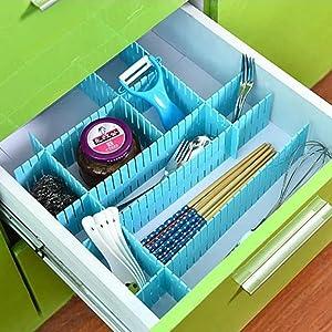 Adjustable Plastic Drawer Partition