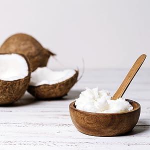 Aceite de coco extra virgen 200 ml - Crudo y prensado en frío - Puro y 100% biológico - Ideal para cabello, cuerpo y para uso alimentario - Aceite bio ...