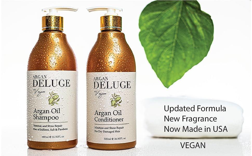 vegan argan oil shampoo and conditioner