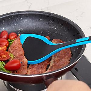 di oro silicone baking small metal  tovolo burger camping long facial bbq cookie spatula set