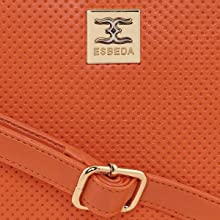 statement brand logo on slingbag esbeda