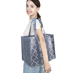 Even Hold the Bags on Your Shoulder to Free Your Hands.