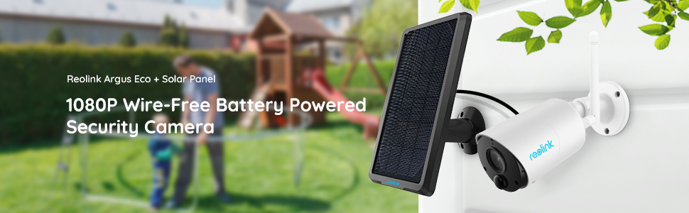 wire free battery powered security camera