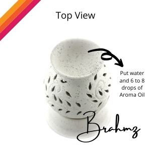 brahmz electric aroma diffuser, ceramic diffuser for home and offices