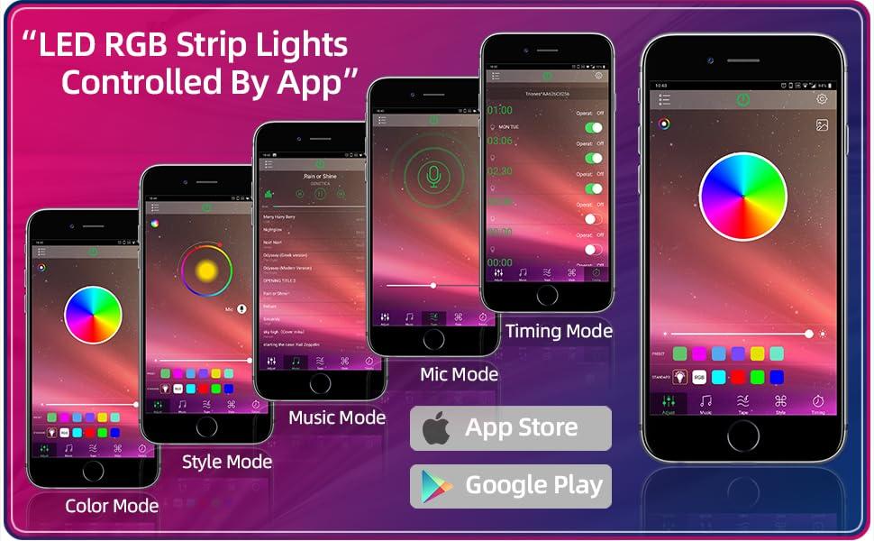 100FT RGB LED Strips