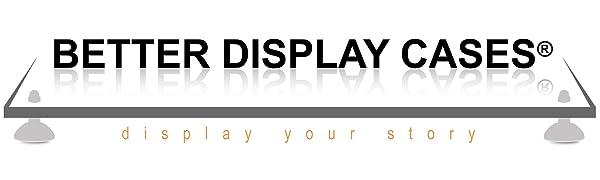 Better Display Cases Acrylic Showcase Riser Protect Model Statue Collectible Antique Memorabilia