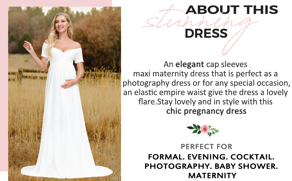 maternity dress for photo props