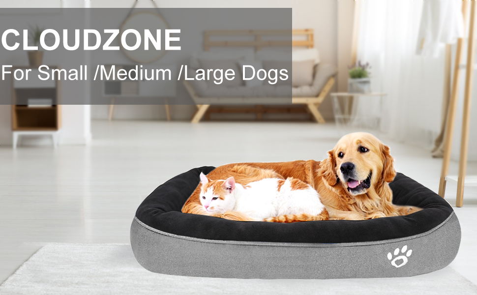 Extra large dog bed