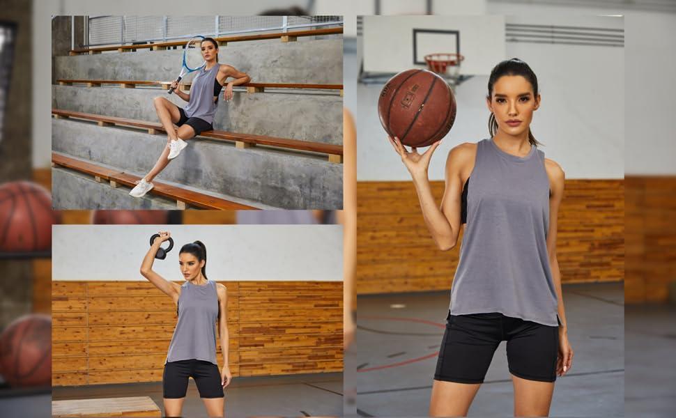 Women Workout Tank Tops