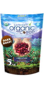 5LB Subtle Earth Organic Dark Roast