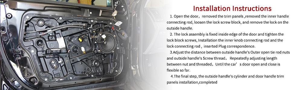 Honda Accord Civic Odyssey Pilot OTUAYAUTO Door Lock Actuator Front Right- for Acura RSX Passenger Side Door Latch Replace OEM: 72115S6AJ01