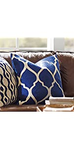 DOKOT Tile Pillow Cover