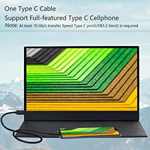 one type C cable