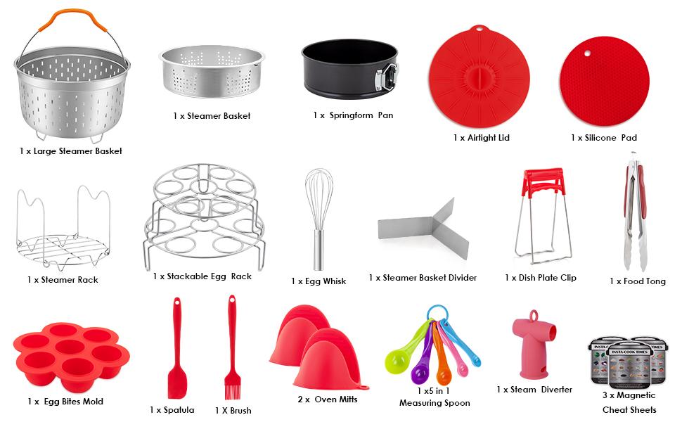 instant pot accessories 6 qt only