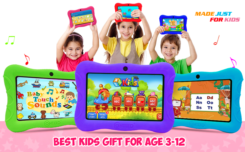 kids tablets tablet kid android proof safety silicone protect learning education