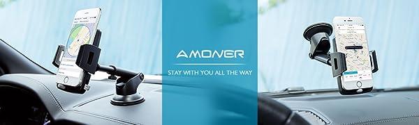 Amoner car phone mount