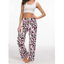 floral pants loose fit plus size