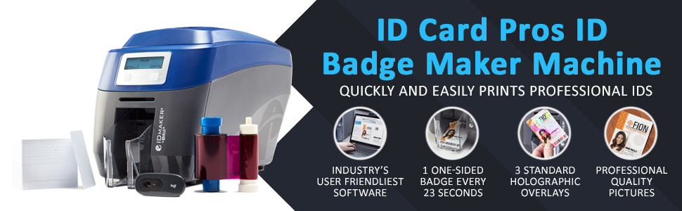 id card pros id badge maker easy to use